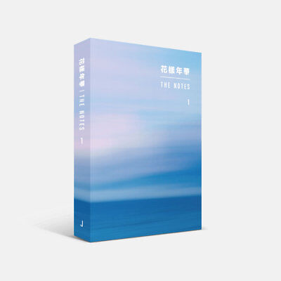 BTS 花樣年華 THE NOTES 1 Japanese Ver Book+Tracking Number