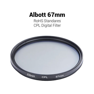 67mm Polfilter Polarisationsfilter CPL Zirkular