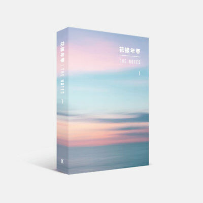 BTS 花樣年華 THE NOTES 1 Korean Ver Book+Special Note Book+Tracking Number