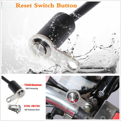 1Pc Motorcycle Self-return Reset Button Switch For Horn Engine Start Kill Switch