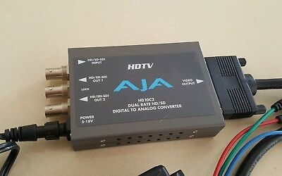 HDTV AJA Digital to Analogue Converter HD 10C2 HD/SD