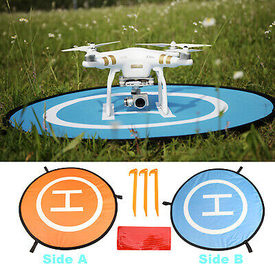 Drone Launch Landing Pad Helipad Foldable Fixed Nail For DJI Mavic Phantom 4/3/2