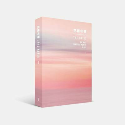 BTS 花樣年華 THE NOTES 1 English Ver Book+Tracking Code