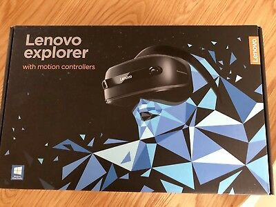 Lenovo Explorer VR Headset And Controllers : Excellent Condition