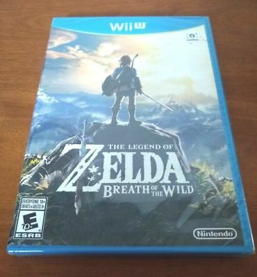 NEW The Legend of Zelda Breath of the Wild for Nintendo Wii U FREE SHIPPING!