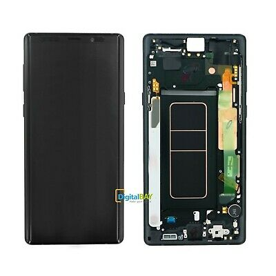 Lcd Display SERVICE PACK Touch Nero Originale Samsung Galaxy Note 9 SM-N960