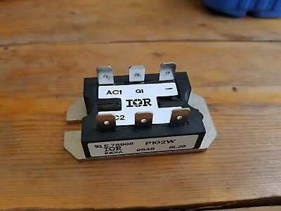 P102W IR International Rectifier SCR Module 600V 25A Thyristors + Diode