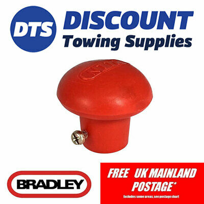 Bradley Style Trailer Replacement Jockey Wheel Handle Knob Kit142 Universal Fit