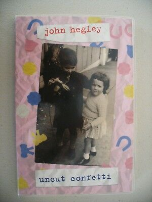 Uncut Confetti by John Hegley, 1st Edition, signed