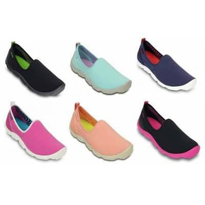 Crocs Duet Busy Day Skimmer Ladies Trainers All Sizes in Various Colours