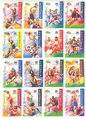 Australia-Rugby set mnh 1996 -Sports