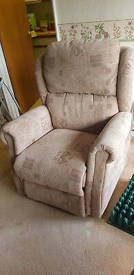 Electric Recliner Mobility Lift and Rise Tilt Riser Arm-chair Fabric
