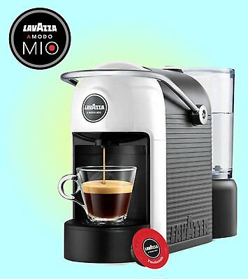 Lavazza A Modo Mio Jolie Espresso Coffee Pod Machine - White - 18000007
