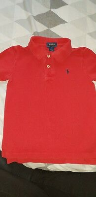 Polo Ralph Lauren Boys Polo T-shirt 5 Years