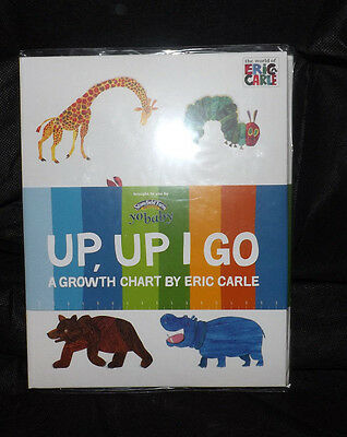 The World Of Eric Carle Up Up I Go Growth Wall Chart Interactive Stickers Nip