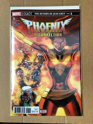 Phoenix Resurrection The Return Of Jean Grey #1 - 3D Lenticular - Marvel Bn B&b