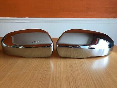 Chrome Wing Mirror Covers For Range Rover Evoque 2011-2013 Models Caps Cover