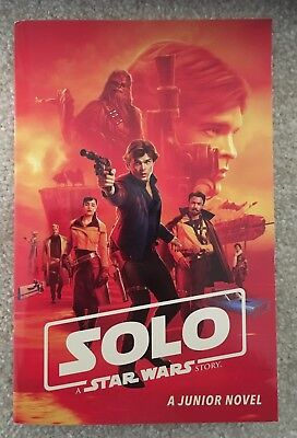 Solo: A Star Wars Story Junior Novel New Book BRAND NEW paperback