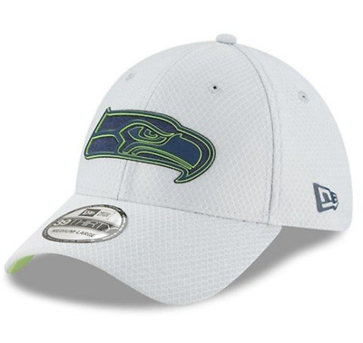 15a4abecef7 New Era Seattle Seahawks Gray 2018 NFL Training Camp Official 39THIRTY L    XL