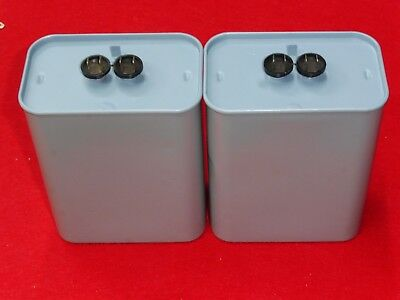 GENERAL ELECTRIC 20uF 600V AUDIO PAPER OIL Capacitors Crossover Network