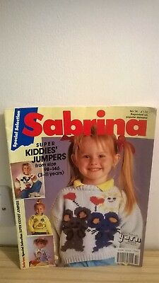 Sabrina Knitting Pattern Booklet-32 Pages-Kids Jumpers