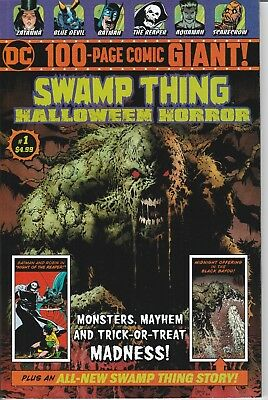 Swamp Thing Halloween Horror 100-Page Comic Giant 1 NM DC Comics Walmart
