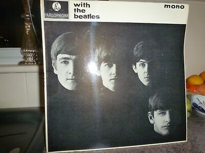 The BEATLES LP COVER with the beatles