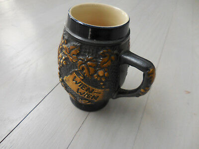 Vintage 1970's Small Wine Mug  4-1/2 Inches Tall Wein Wein Shipping Included