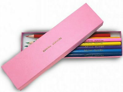 Personalised Childrens Back To School Gold Embossed Colouring Pencils Pink sg1