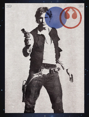 TOPPS STAR WARS CARD TRADER Vintage Vibes Han Solo