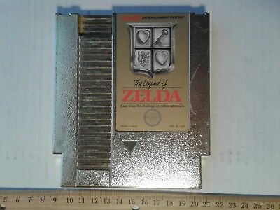 The Legend of Zelda (Nintendo Entertainment System, 1987) NES Link Free Shipping