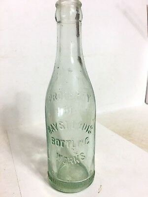 BAY ST LOUIS MISSISSIPPI Soda Bottle A.L.S.