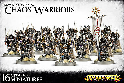 Chaos Warriors Slaves to Darkness Warhammer Age of Sigmar NEW