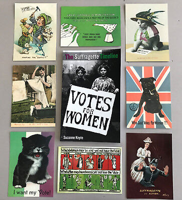 Suffragette Book with 9 FREE Suffragette postcards