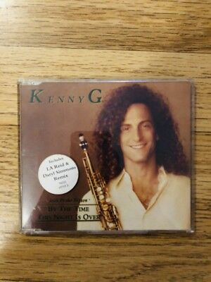 Kenny G & Peabo Bryson - By The Time This Night Is Over CD Single Dated 1992