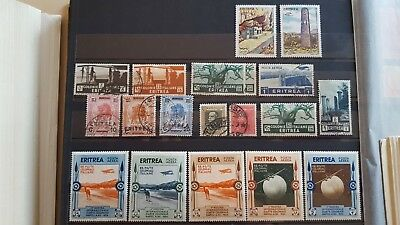 ERITREA CLASSICS NICE OLD COLLECTION cat.v. 55+ euro