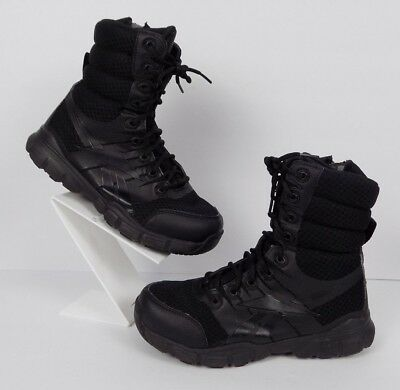 differently 33a89 adb93 REEBOK MENS DUANTLESS Ultra Light RB8720 Tactical Side Zip Boots Black 7.5M