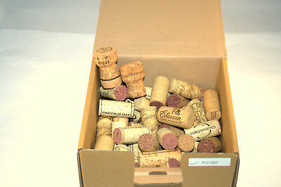 Lot:  90 Wine Bottle Corks, All Real Cork