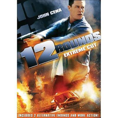 12 Rounds DVD Rated/Unrated Widescreen John Cena Brand New Sealed