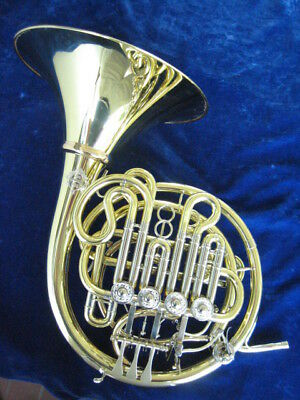 NEW ALEXANDER 107X DOUBLE DESCANT FRENCH HORN with DETACHABLE BELL!