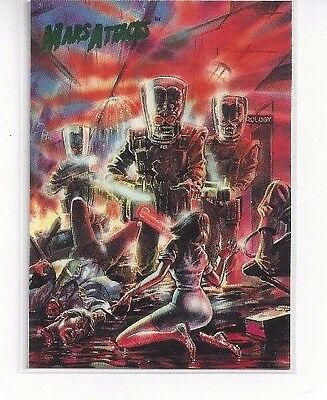 1994 Topps Mars Attacks Base Series #70 - The Comics Issue #4 Boonthanakit Cover