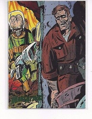 1994 Topps Mars Attacks Base Series #68 The Comics Issue #2 Keith Griffen Cover