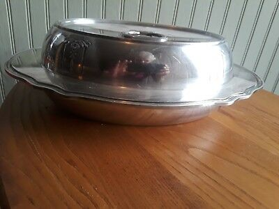Gorham  Silver Soldered Entree Dish With Lid