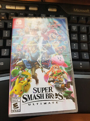 Switch Super Smash Bros. Ultimate for Nintendo Switch NEW