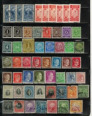 Lot of Worldwide Old Stamps Used/MH