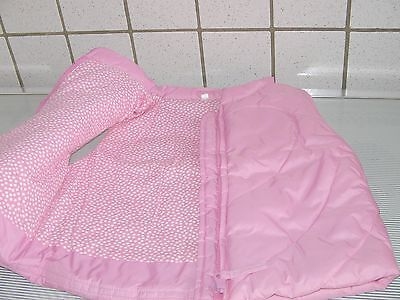 Veste Fille Rose Fluo  Ss Manches - Comme Neuf  - T. 86 - 100% Polyamide/coton