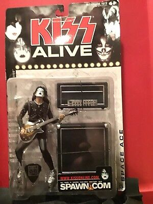 McFarlane Toys, KISS Alive Ace Frehley (Space ace) Figure, 7 Inches