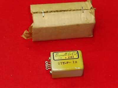 WE BURNELL & Co S-3302 CHOKE INDUCTOR Transformer 253 mH + 253 mH