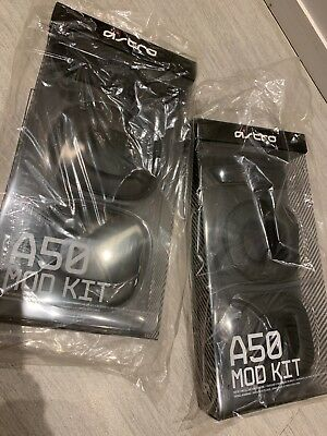ASTRO Gaming A50 Noise-Isolating Mod Kit - Black - NEW - SET OF 2
