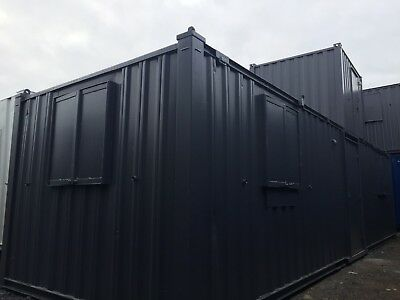 32 x 10 ft Anti Vandal Site Office / Site Cabin / Portable Building / Canteen